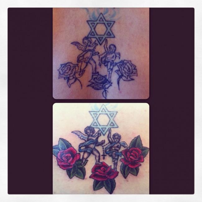 Cherubs and Roses