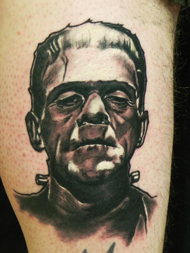 Classic Frankenstein Portrait