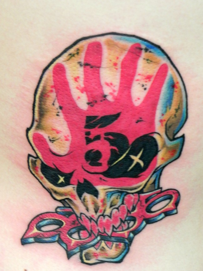 Five Finger Death Punch Tattoo