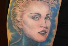 Madonna True Blue Tattoo