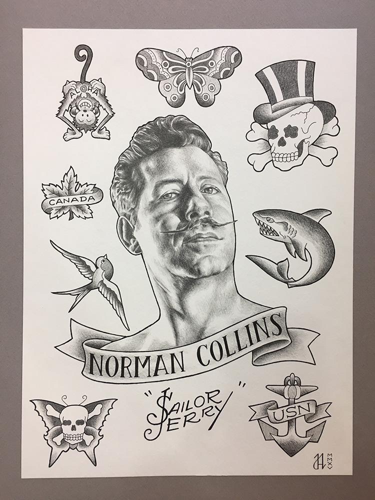 Jo Atwood Tattoo Flash